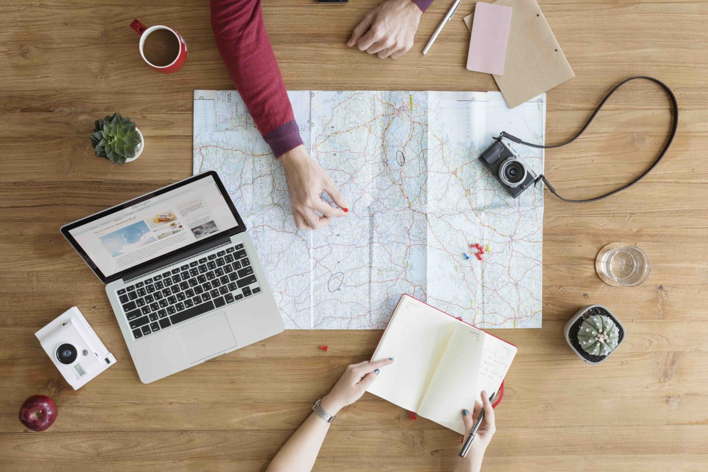 LightWorkers Map Planning a Trip without Time or Money.