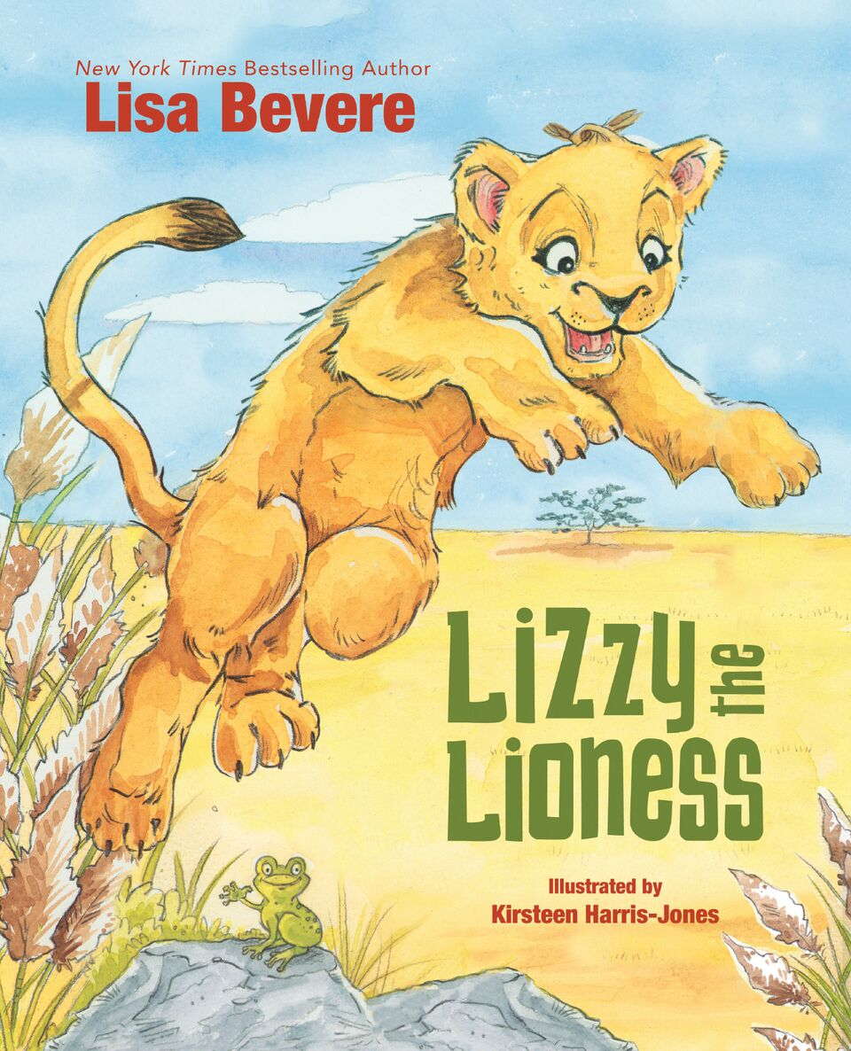 lisa bevere u0027s u0027lizzy the lioness u0027 teaches young children about the