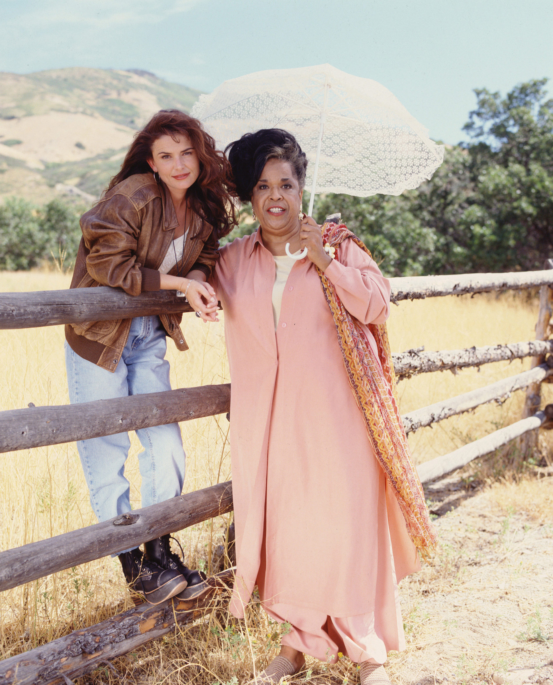 Roma Downey and Della Reese Touched by an Angel LightWorkers