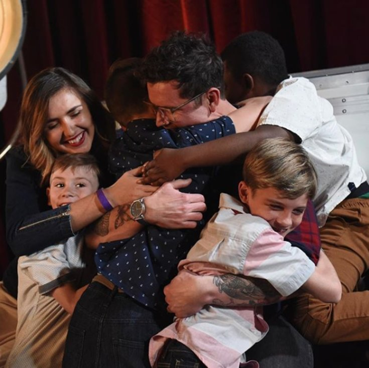 Adoptive Dad's Stunning Message & Performance Wows Simon Cowell LightWorkers