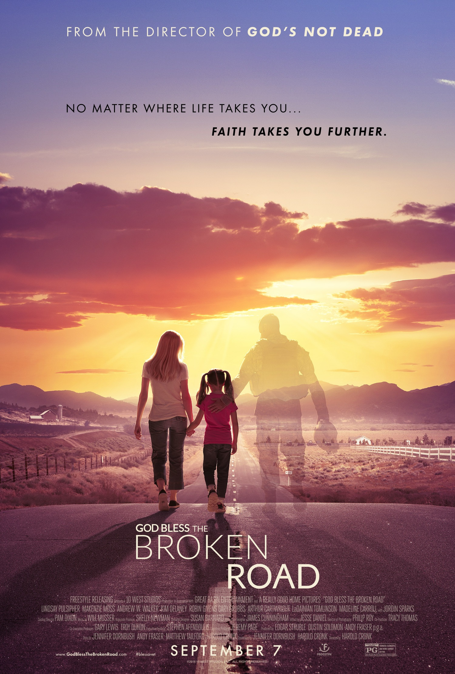 'God Bless the Broken Road': Uplifting Story of How a Widow and Daughter Find Faith and Hope Again
