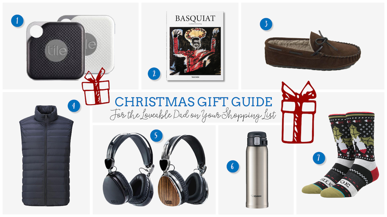 Gifts for the Loveable Dad on Your Shopping List