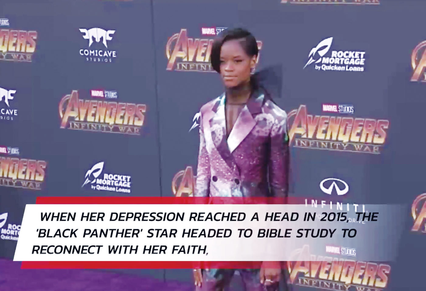 Letitia Wright, How 'Faith Saved Me from Depression'