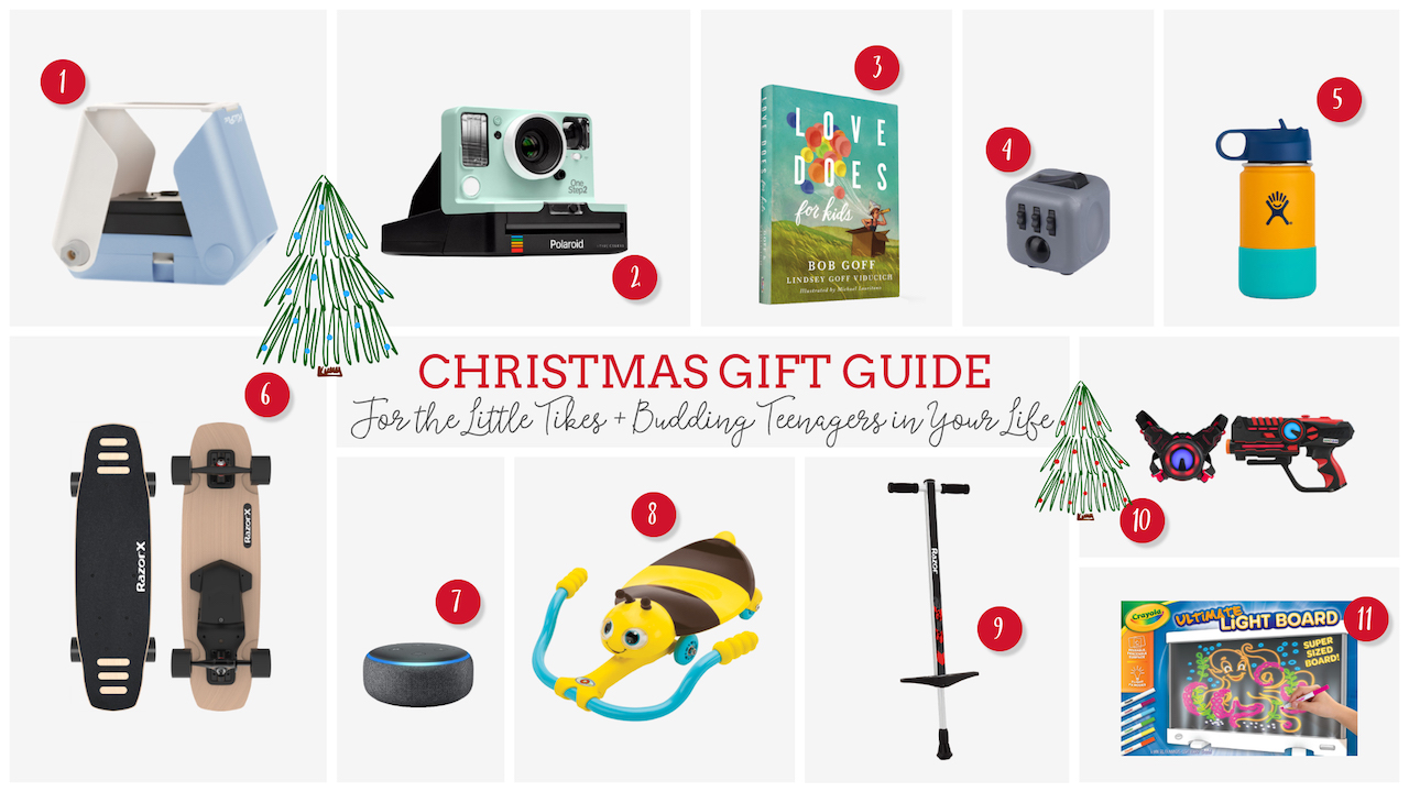 Gifts for the Little Tikes + Budding Teenagers in Your Life