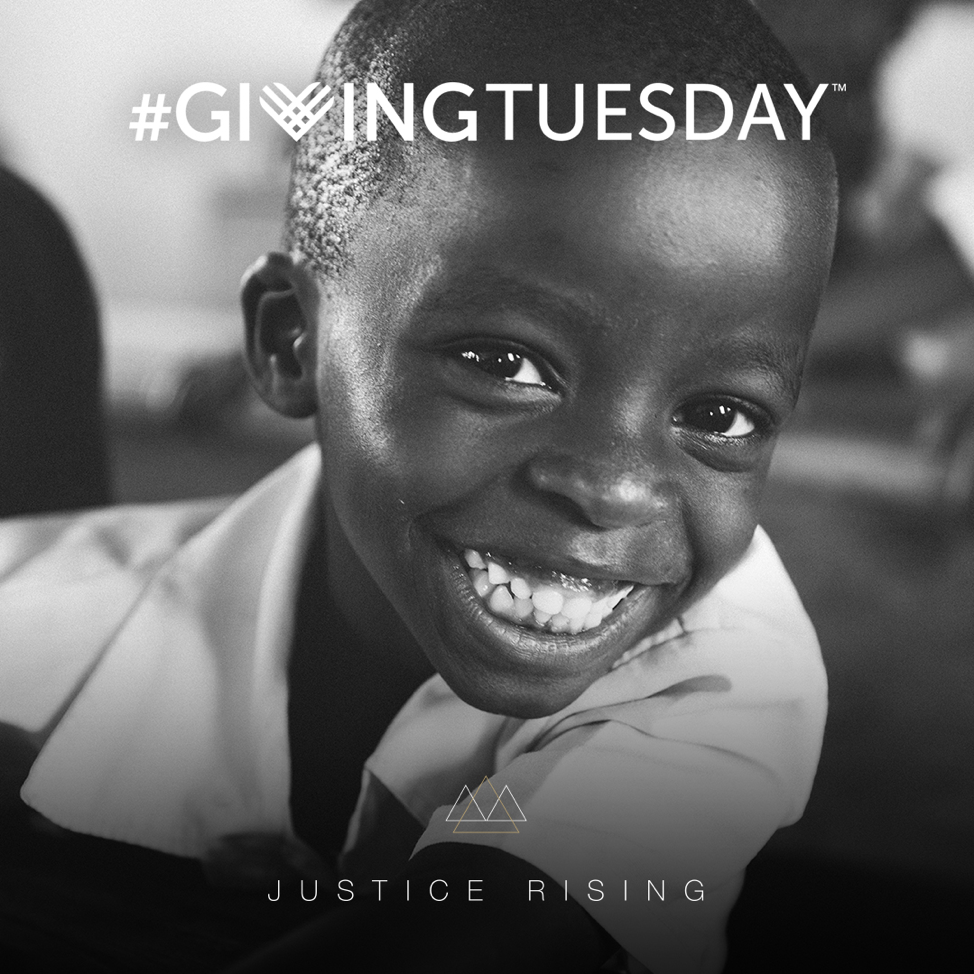 Justice Rising Giving Tuesday