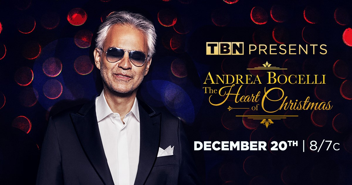 Francesca Battistelli Performs with Icon Andrea Bocelli for Christmas Special