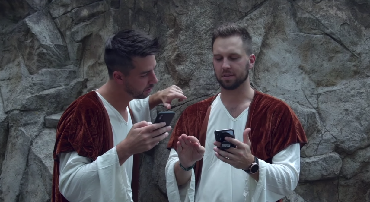 'If Bible Characters Had Iphones': John Crist's Latest Insanely Hilarious Sketch