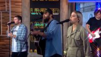 'God Is Madly in Love with You': Hillsong United Boldly Worships on Gma