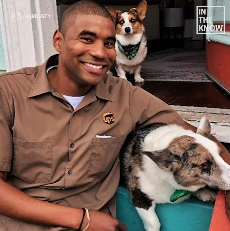 A UPS Driver Is Going Viral For His Puppy Encounters