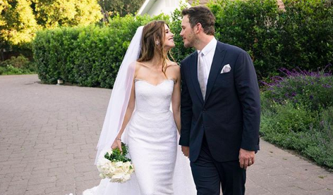 Chris Pratt Katherine Schwarzenegger Married