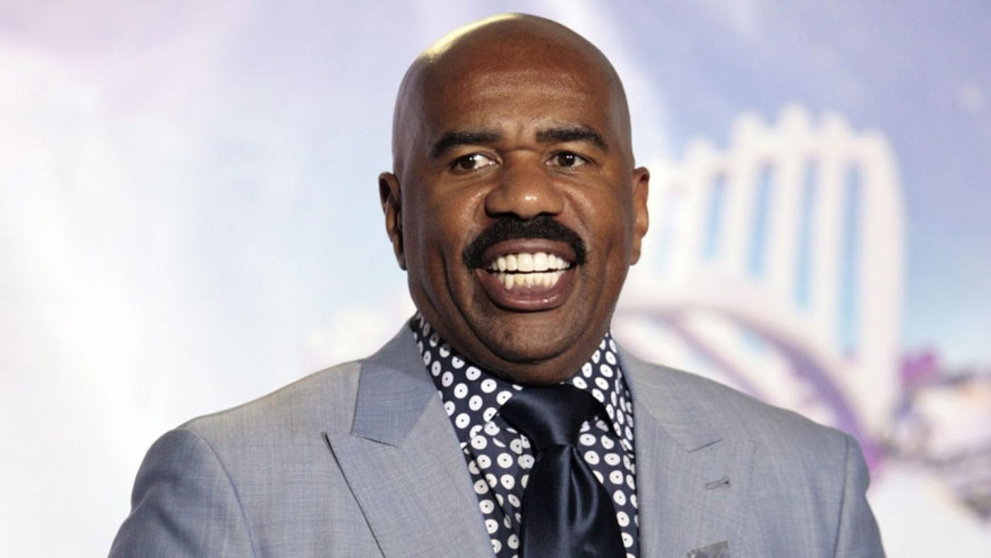 Steve Harvey Brought to Tears After Gospel Singer Prophesies over Him