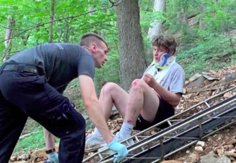 'I Felt God Grab onto Me,' Teen Miraculously Survives 50-Foot Fall