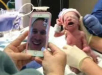 Soldier Witnesses Wife Give Birth from Thousands of Miles Away—Surprise! It's Quadruplets