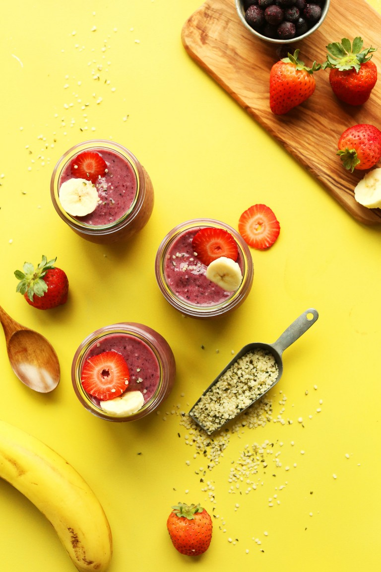 Easy, Healthy Summer Berry Recipes