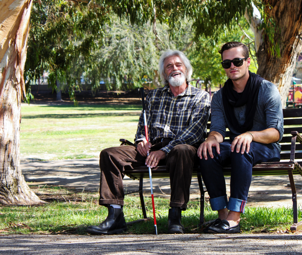 'The Bench': The Remarkable Story of What One Blind Man Can Teach You in 5 Minutes
