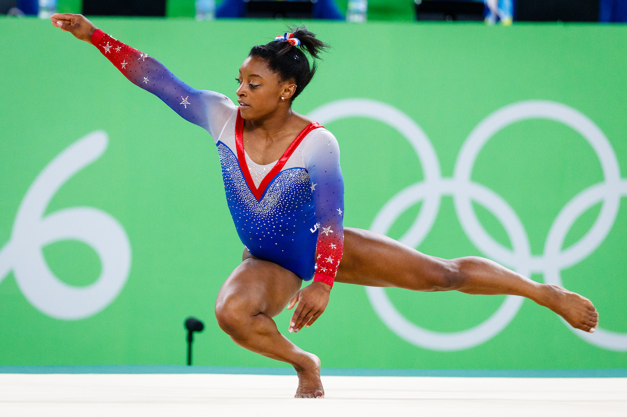 Simone Biles Smashes Records, Becomes First Woman to Land Triple-Double During Floor Exercise