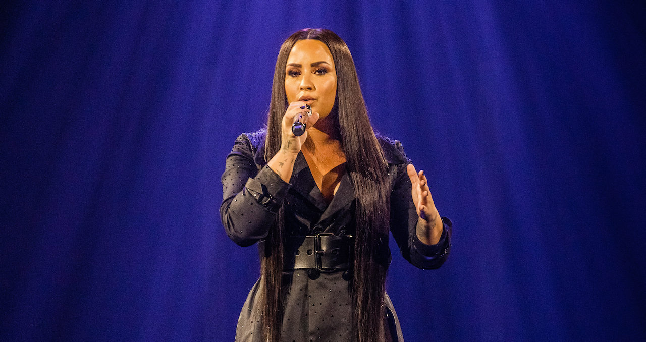Demi Lovato: Being Baptized in Israel Filled 'God-Sized Hole in My Heart'
