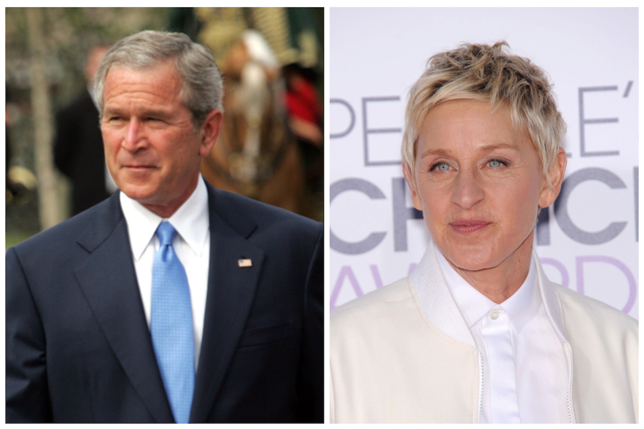 Ellen Degeneres Gives Crash Course in Tolerance After Backlash for Hanging out with George W. Bush