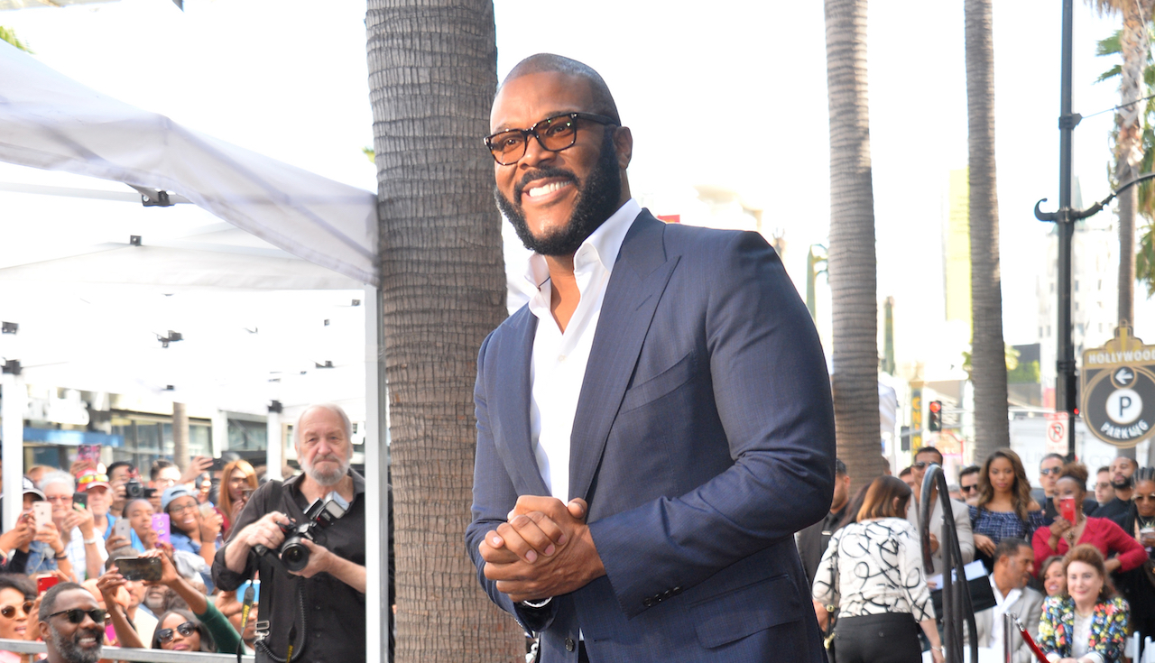 Hollywood Producer Tyler Perry Opens New Atlanta Studio With Star-Studded Worship Service