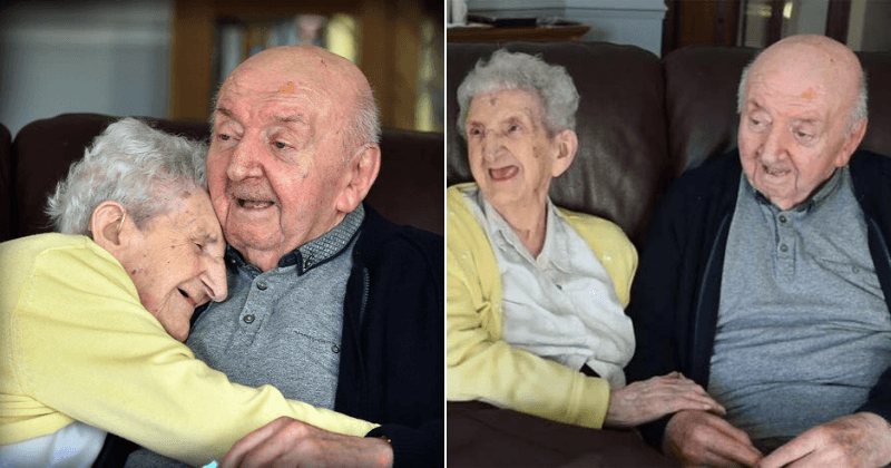 98-Year-Old Mom Moves into Nursing Home to Take Care of 80-Year-Old Son
