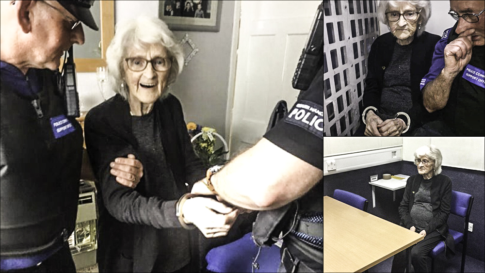 Adorable 93-Year-Old Grandma Gets Arrested on Purpose to Knock It off Her Bucket List