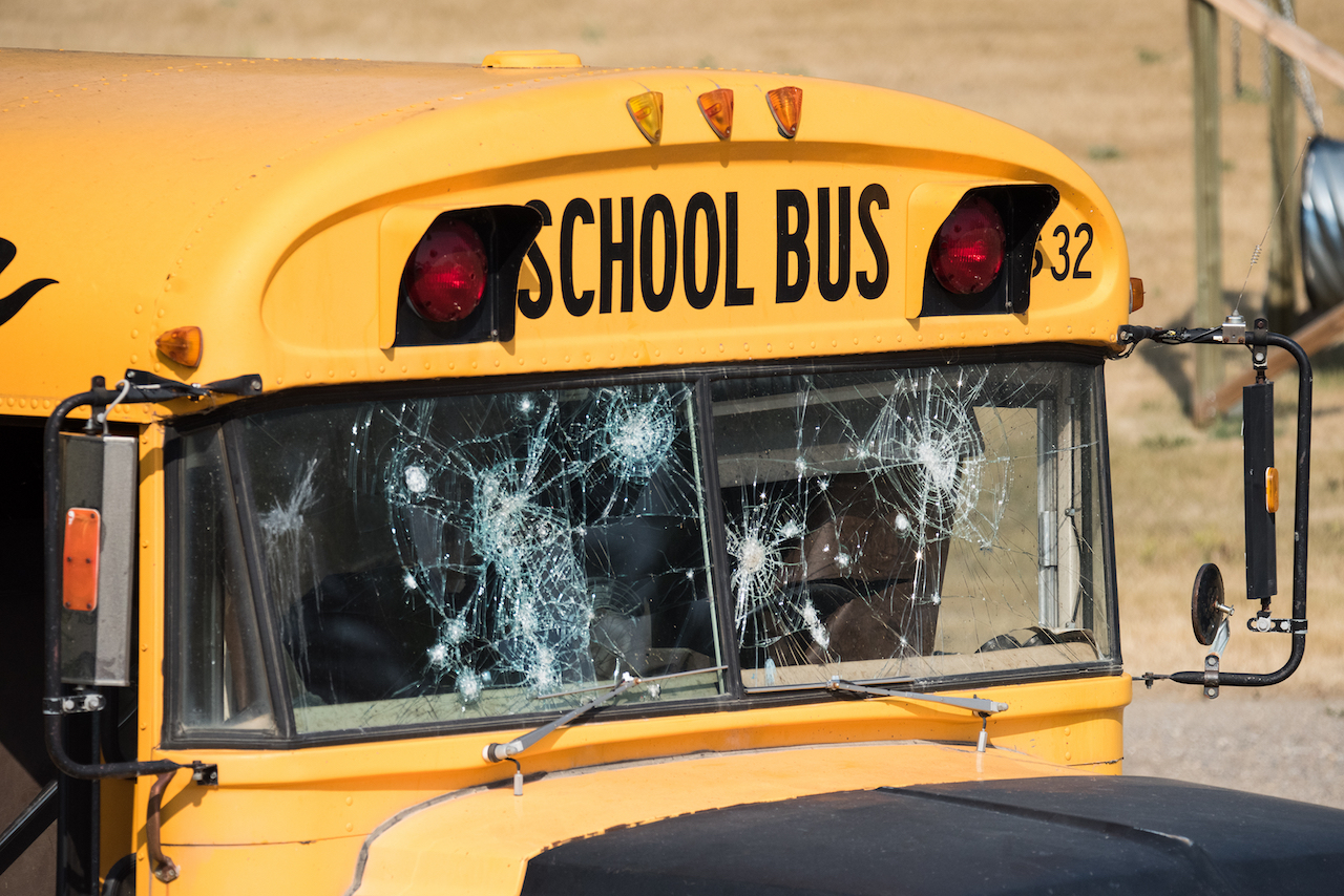 PRAY: Group of Teens Storm Elementary School Bus, Attack Children Inside