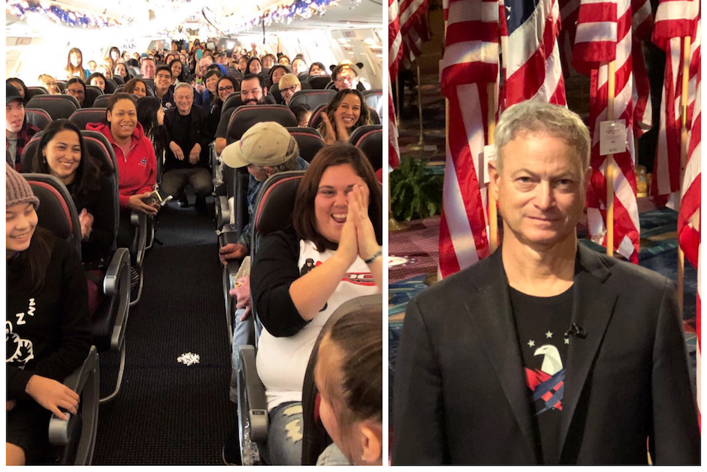 Forrest Gump Star Gary Sinise Takes 1,750 Children of Fallen Soldiers to Disney World for Christmas