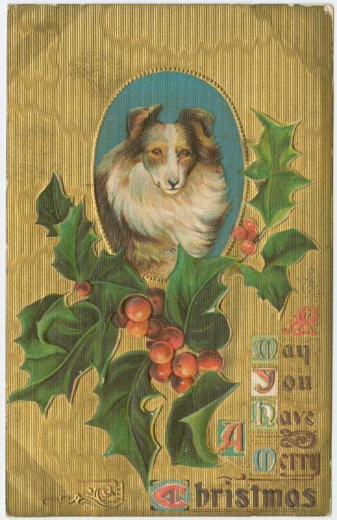 10 Must-See Vintage Christmas Cards from the New York Public Library Archives
