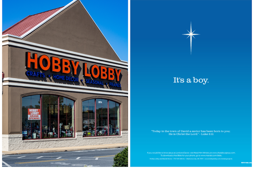 Hobby Lobby Declares Christ Is Lord in Full-Page Newspaper AD