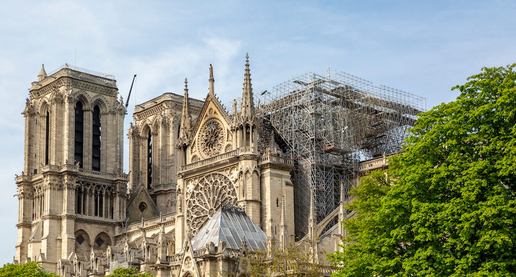 Notre Dame Still in Grave Danger, '50 Percent Chance It Will Be Saved'
