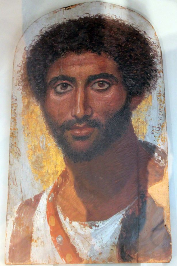 Artistic depiction of what Jesus might have looked like.