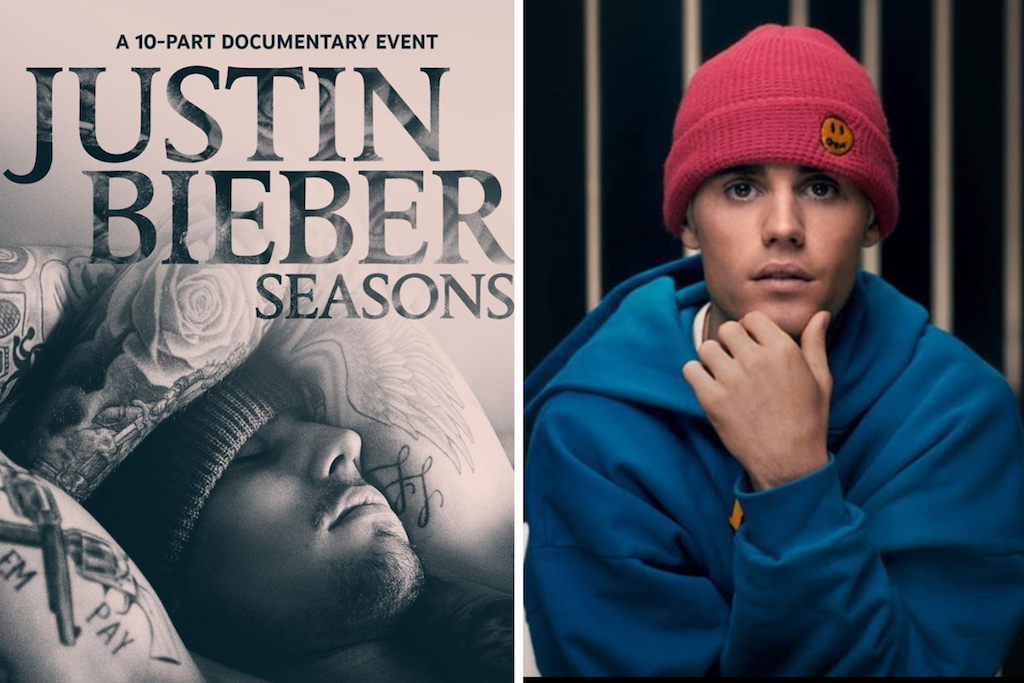 Justin Bieber's new series cover/Justin's front profile